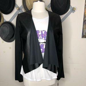 Calvin Klein black jacket sweater size large